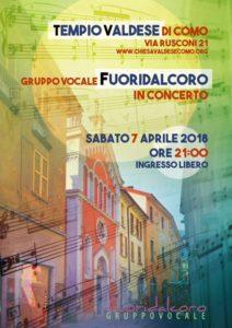 Concerto del gruppo FUORIDALCORO